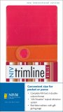niv-trimline-bible-pink-&amp-orange-italian-duo-tone